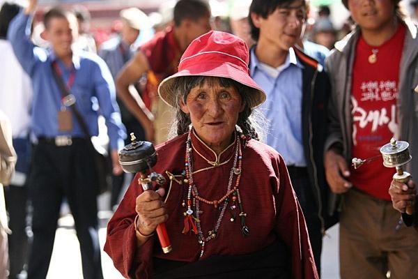 Tibetan pilgrim by focusss73