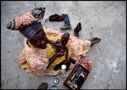 Namibia shoe shine