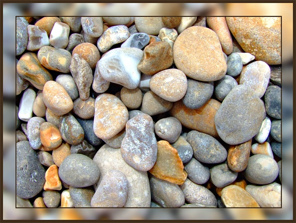 Beach Pebbles by sandrish