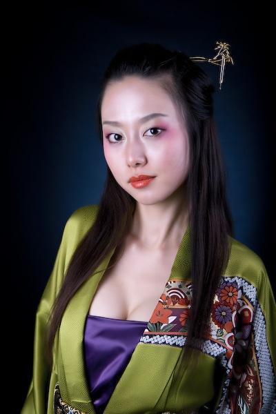 Nao in Kimono by iamagoo