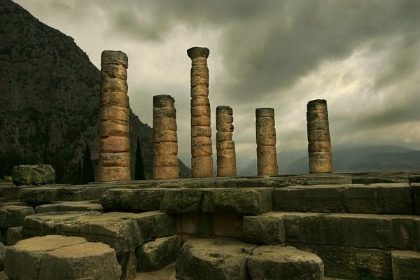 Greece 1, Delphi by PatriciaWilson