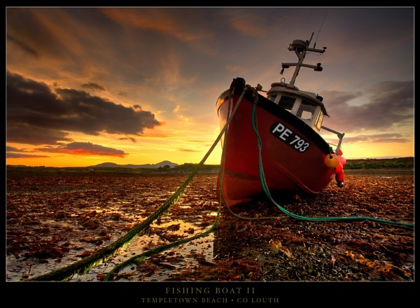 Fishing Boat II by garymcparland