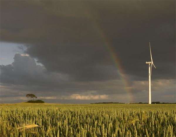 Rainbow in Uckermark by kasv