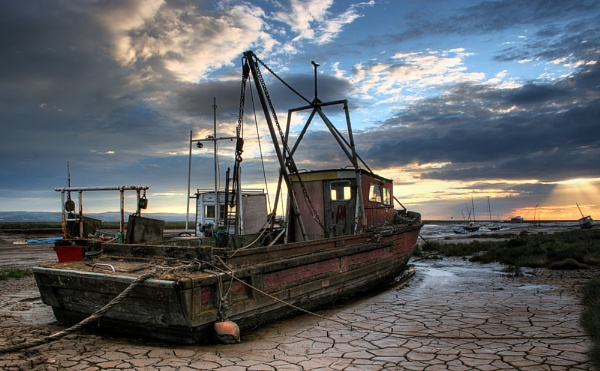 The Old Trawler by MarkBroughton
