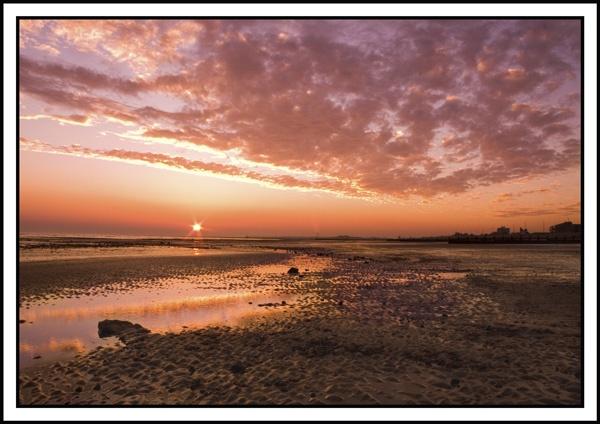 Littlehampton Sunset by Dinney