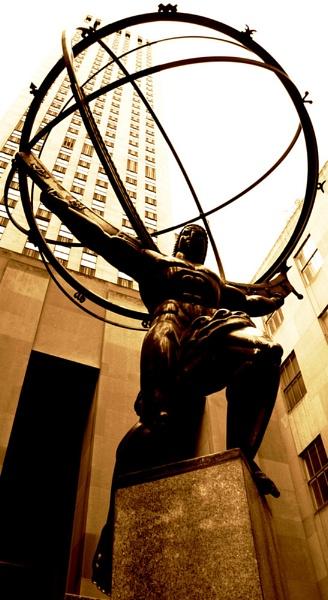 Atlas Statue by danielhume
