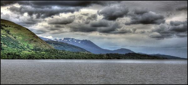 Ben Nevis from Loch Lochy HDR by ross_hamill