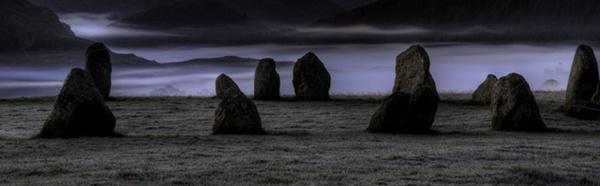 Castlerigg Mist by davey