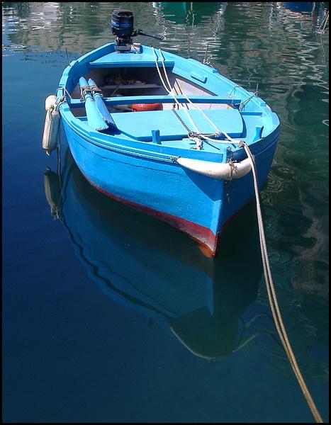 Amalfi boat by rickie