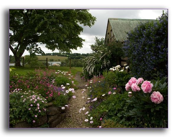 A country Garden by Mavis