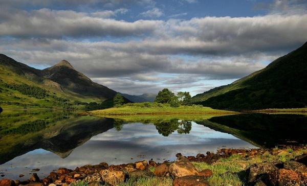 a calm loch 2 by davidcollins
