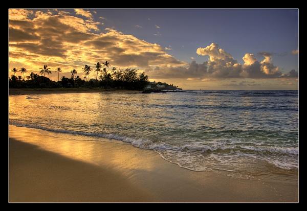 Sunkissed Sunrise at Poipu Bay by John_Horner