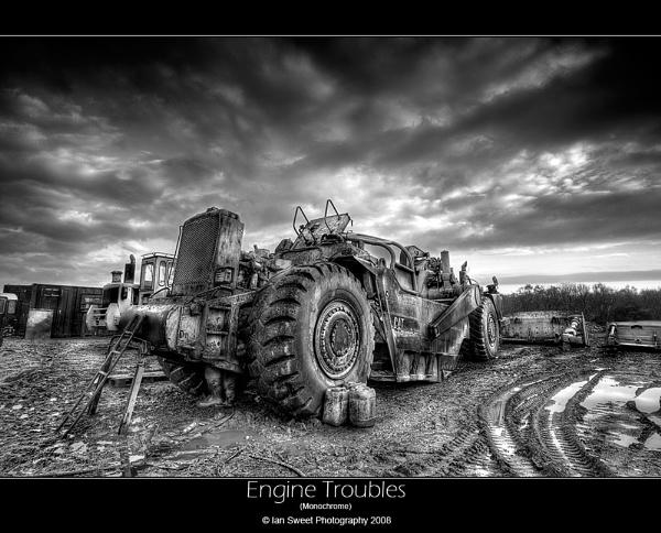 Engine Troubles Mono by Ian_Sweet