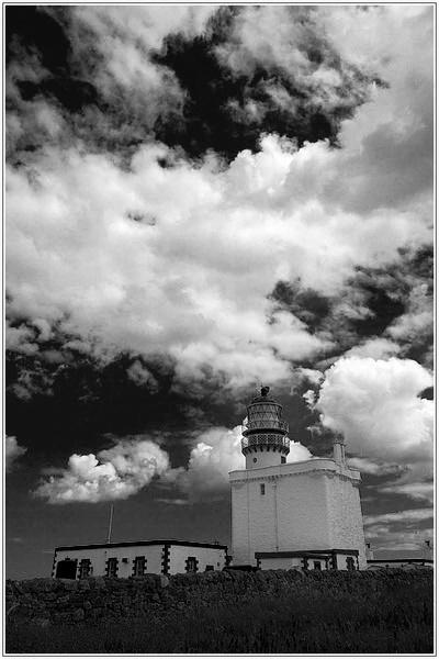 Frazerburgh Lighthouse by Anthony