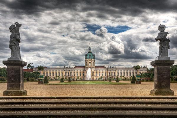 Charlottenburg Palace by MarcPK
