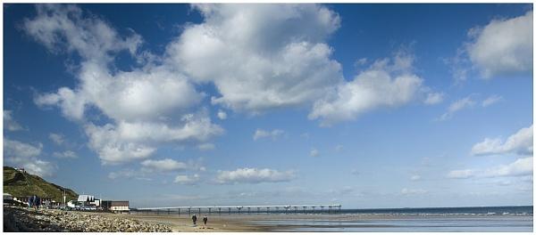 Saltburn beach by Vixs
