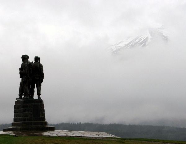 dreich day in Scotland by japa