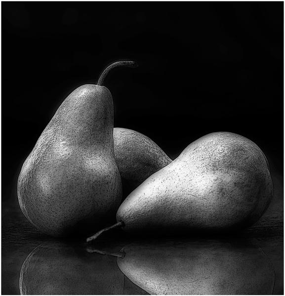 Gritty Pears II by LisaRose