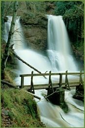 Pwll y Wrach Waterfall.
