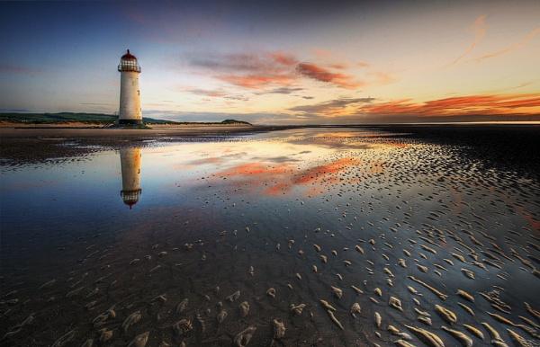 Dusk Lighthouse by MarkBroughton