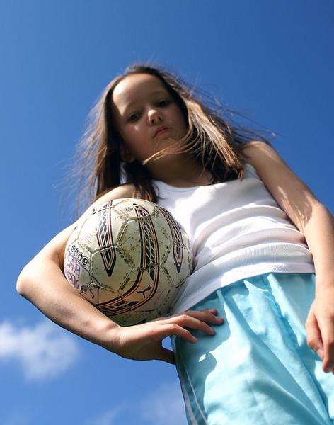 Who Says Football Is A Boys Sport? by SamTheMan