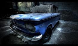 Vintage German car