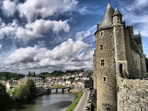 Chateau Josselin by gobby
