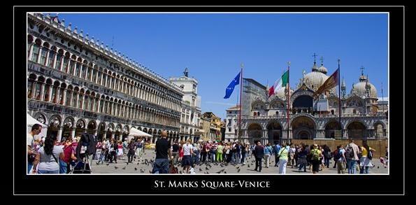 St. Marks Square, Venice by wirralmark