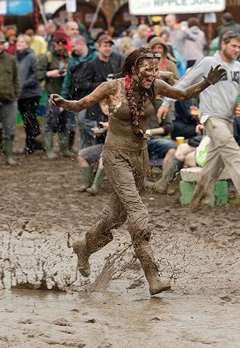 Glasto mud by samfurlong