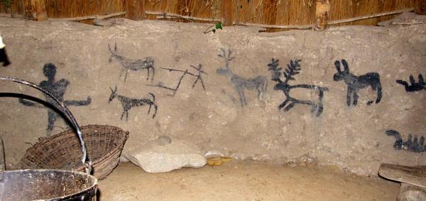 Hut Paintings by RachelMB