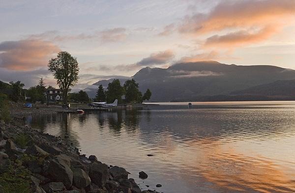 Sunrise. Loch Lomond by trekpete