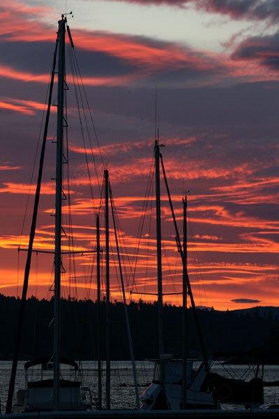 sunset by Seanf
