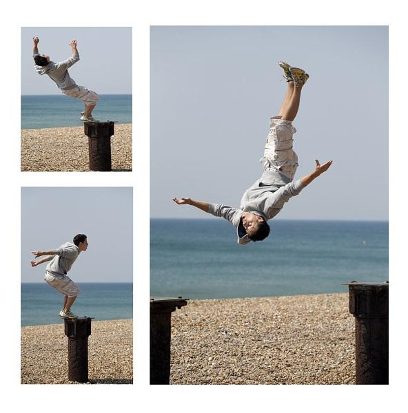 Beach Jumper by StephenBrighton