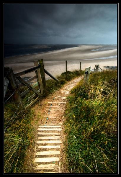 Beach Gate by GoodallPhotography