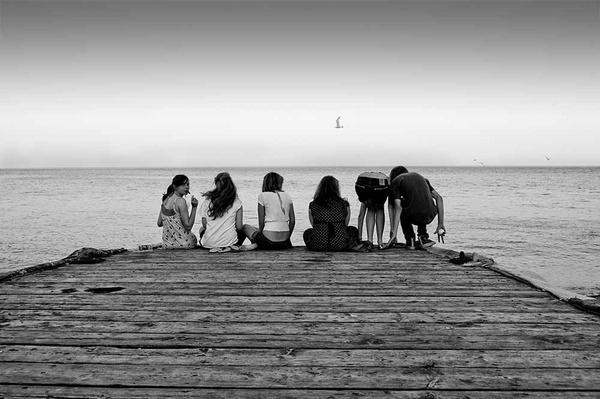 Pier Friends by cavjer