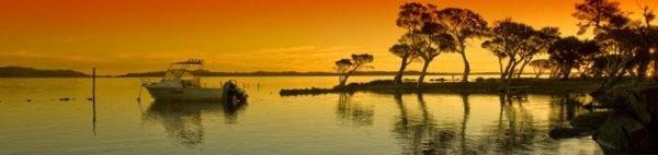 Broke Inlet Sunset by BazE