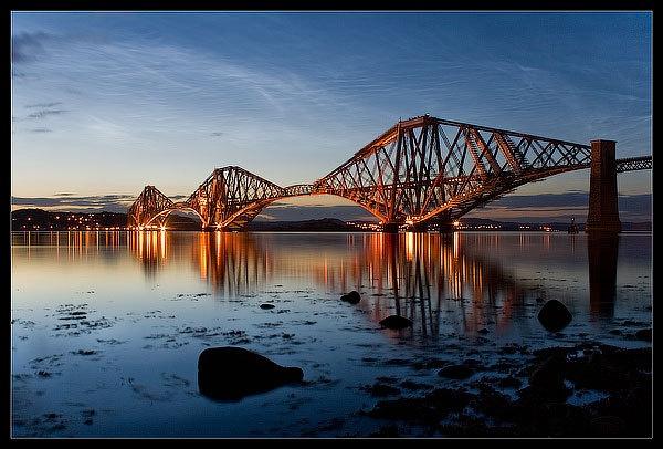 Forth Rail Bridge by calemdon