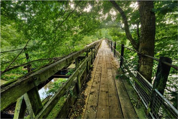 Bridge Over The River Wye by dandeakin