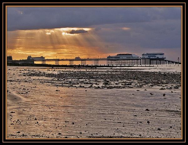 Sunset Over Cromer Pier by fentiger
