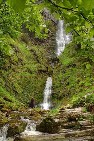 Pistyll Rhaeadr Waterfall by klewis
