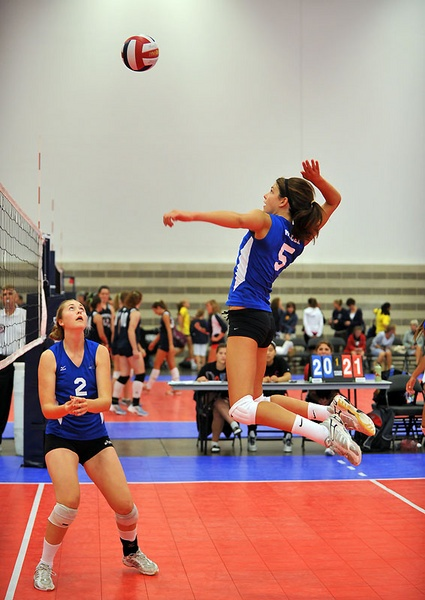 Jr. Olympic Volleyball by dfbailey