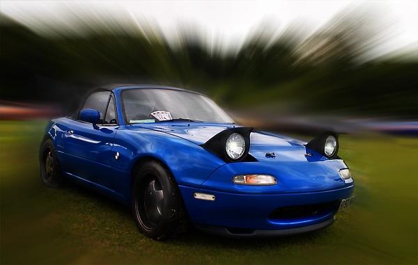 Little blue convertible by C_Daniels