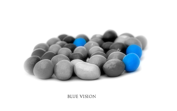Blue Vision by KKmoments
