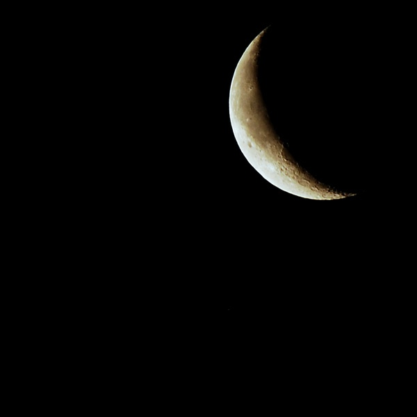 Waning Crescent by andora6878