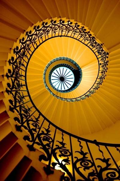 Yellow Spiral by paulraymondphotography
