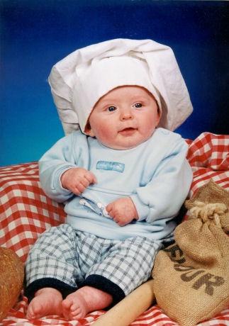 The Budding Chef!! by bracken_donna