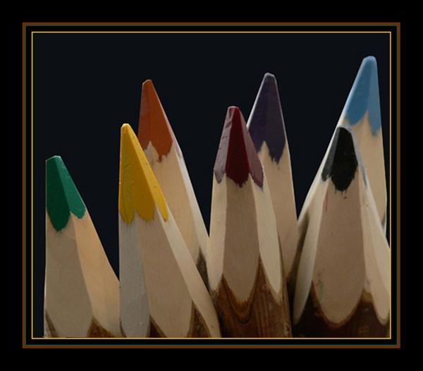 pencils by dwarf