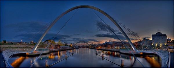 Tyne Bridges by stevenb