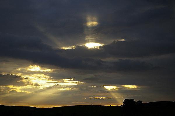 Sunset Rays by DaveH64