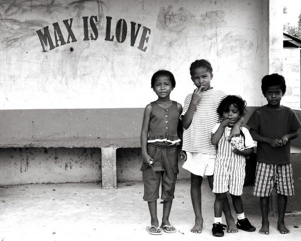 Kids in Belize by vickik